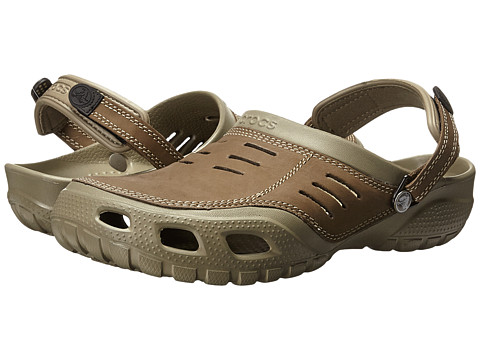 Crocs - Yukon Sport (Khaki/Coffee) Men's Clog Shoes