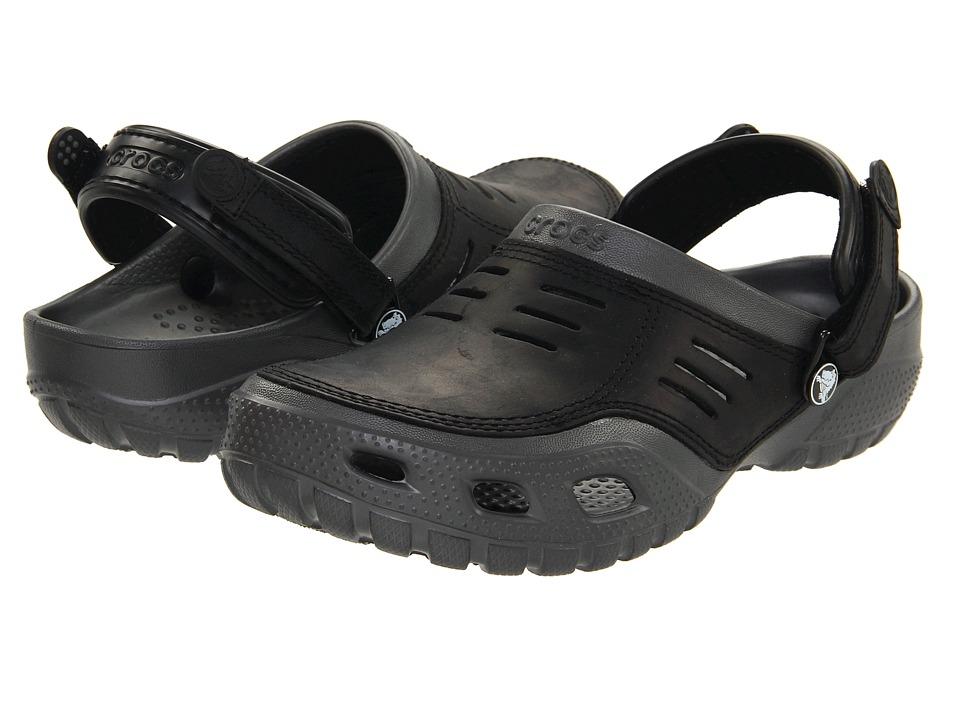 Crocs - Yukon Sport (Graphite/Black) Men's Clog Shoes
