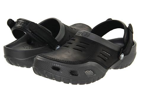 Crocs - Yukon Sport (Graphite/Black) Men