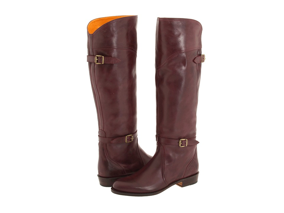 Frye - Dorado Riding (Bordeaux Full Grain Brush Off) Women's Pull-on Boots
