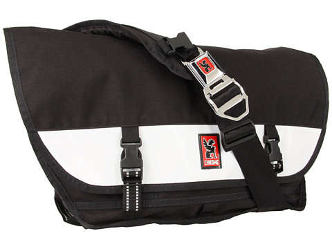 Chrome - Citizen Messenger (Black/White) Messenger Bags