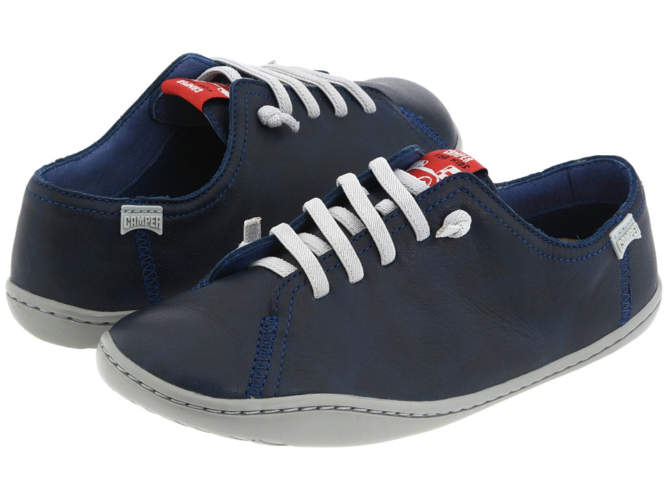 Camper Kids - Peu Cami 80003 (Little Kid) (Navy Leather) Boys Shoes