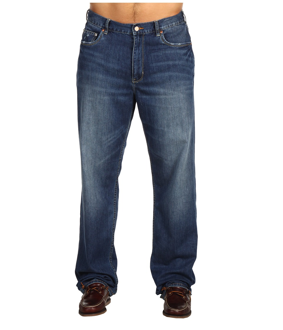 Tommy Bahama Big & Tall - Big Tall Standard Blue Dylan Jeans (Vintage Medium Wash) Men's Jeans
