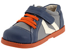 See Kai Run Kids - Dan (Infant/Toddler) (Blue/Gray/Orange) - Footwear