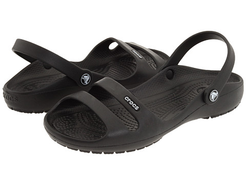 3bb5148a9 ... UPC 883503630291 product image for Crocs Cleo 2 (Black Black) Women s  Sandals ...