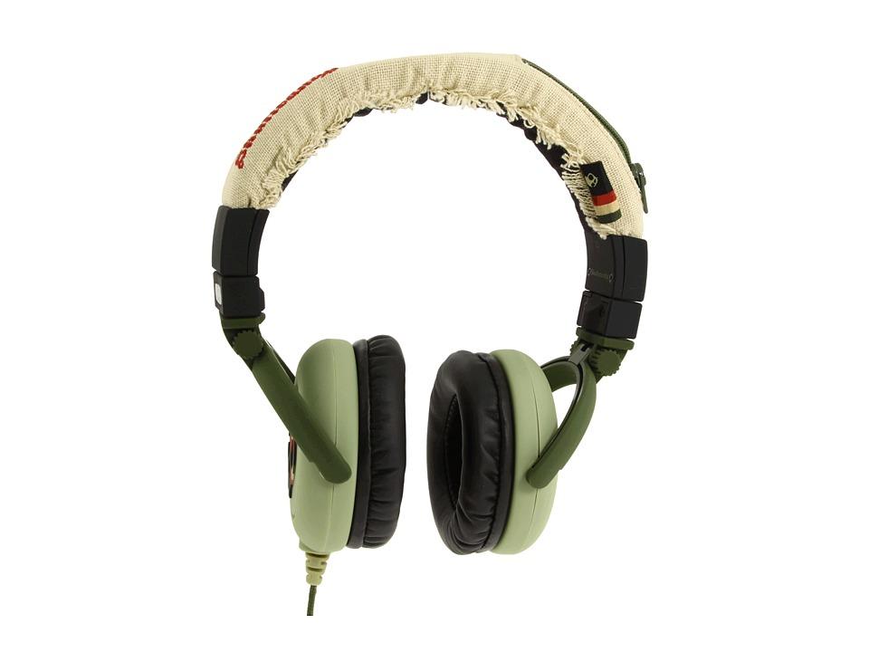 Skullcandy - G.I. Mic'd (2011) (Habitat Rasta) Headphones