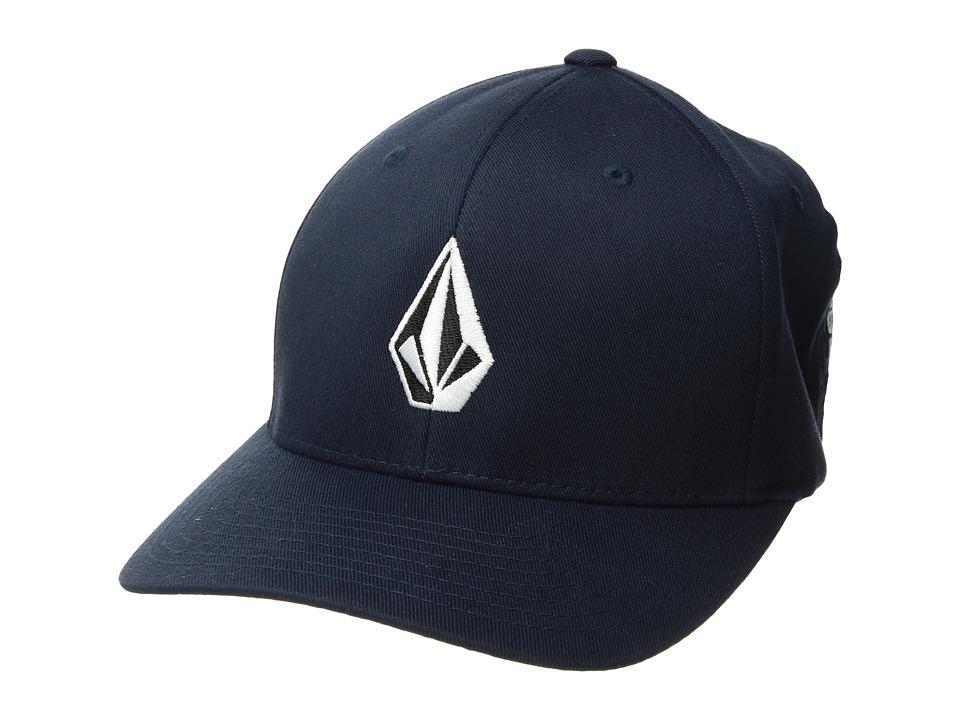 Volcom - Full Stone X-Fit FlexFit (Navy) Baseball Caps