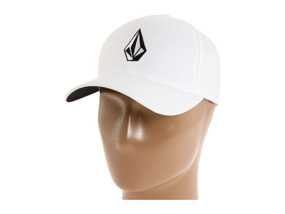 Volcom - Full Stone X-Fit FlexFit (White) Baseball Caps