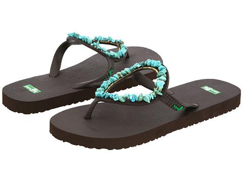 Sanuk - Ibiza Gypsy (Turquoise) Women's Sandals