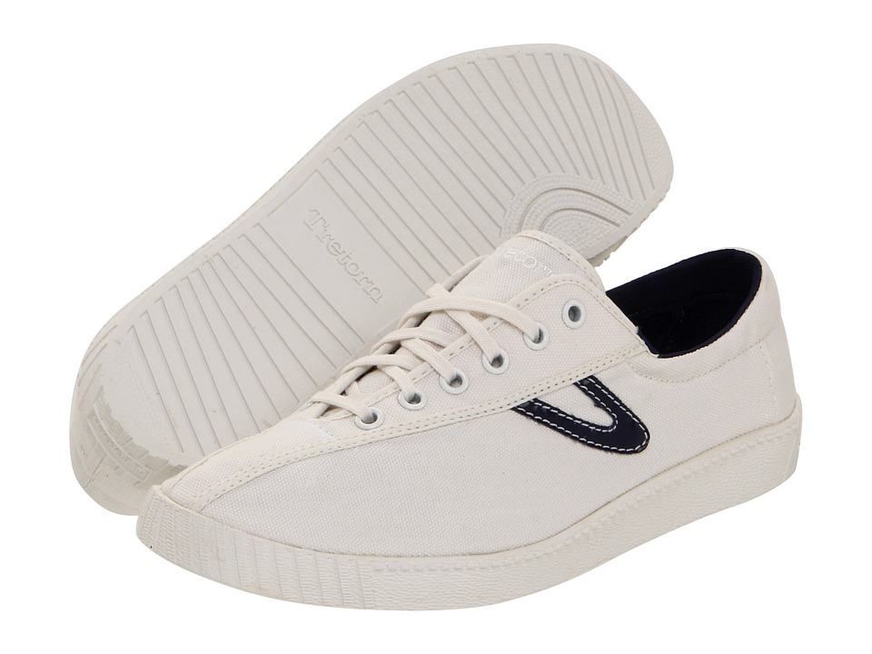 Tretorn - Nylite Canvas (White/Peacoat Navy 2) Women's Shoes