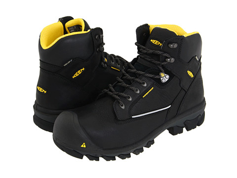 Keen Utility - Portland (Black) Men's Work Boots