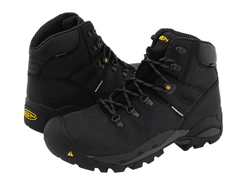 Keen Utility - Cleveland Boot (Black) Men's Work Boots