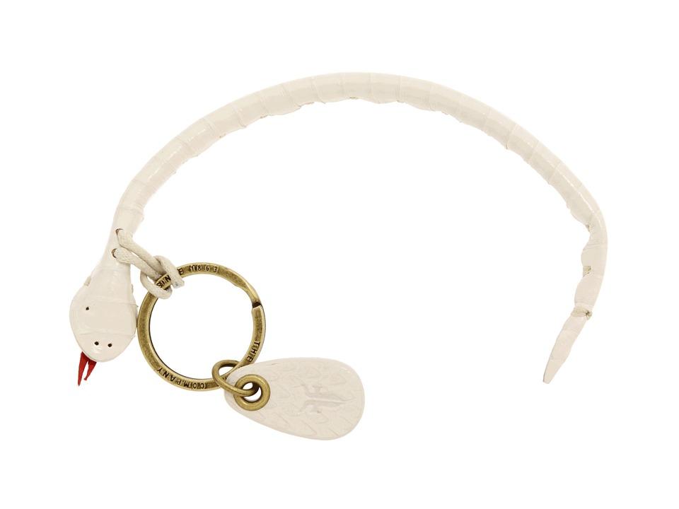 Frye - Snake Keyfob (White) Bracelet