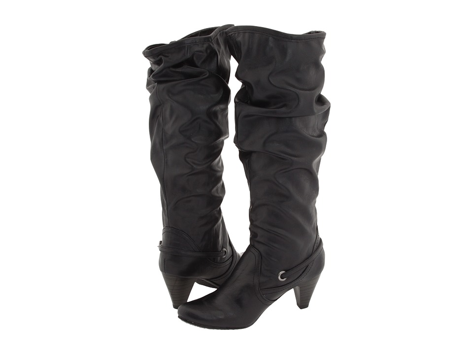 Steve Madden - Pampered (Black) Women's Pull-on Boots