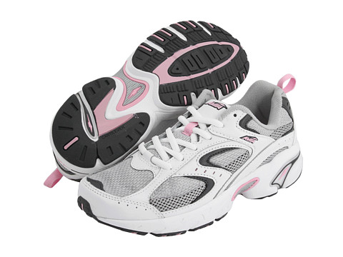 Avia - A5018W (White/Chrome Silver/Angel Pink/Iron) Women's Running Shoes