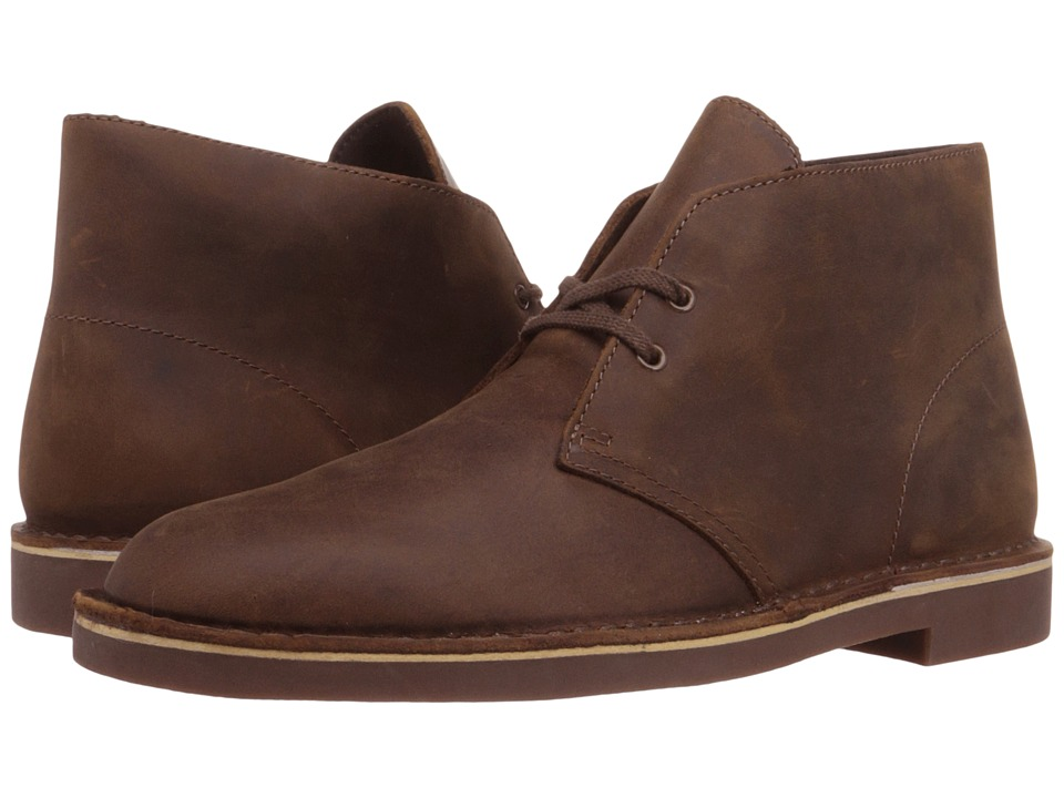 Clarks - Bushacre 2 (Beeswax Leather) Men's Lace-up Boots