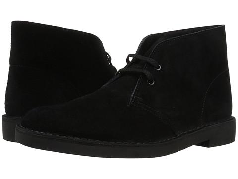 Clarks - Bushacre II (Black Suede) Men's Lace-up Boots