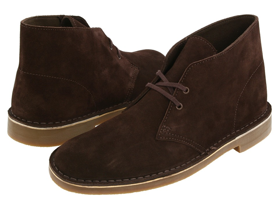 Clarks Bushacre II (Brown Suede) Men