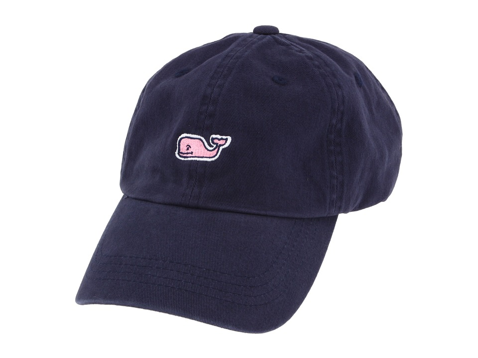 Vineyard Vines - Whale Logo Baseball Hat (Vineyard Navy) Caps