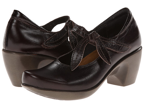 Naot Footwear - Pleasure (Espresso Leather) Women's Maryjane Shoes