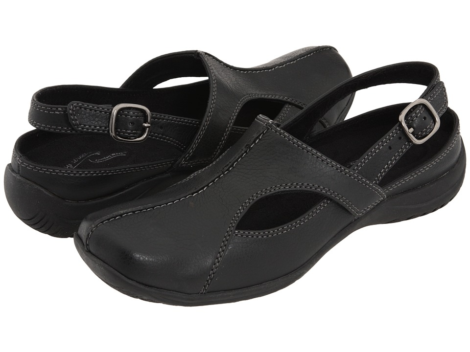 Easy Street - Sportster (Black) Women's Clog/Mule Shoes