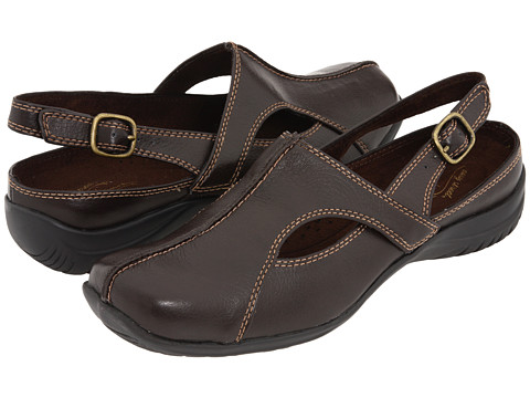 Easy Street - Sportster (Brown) Women's Clog/Mule Shoes