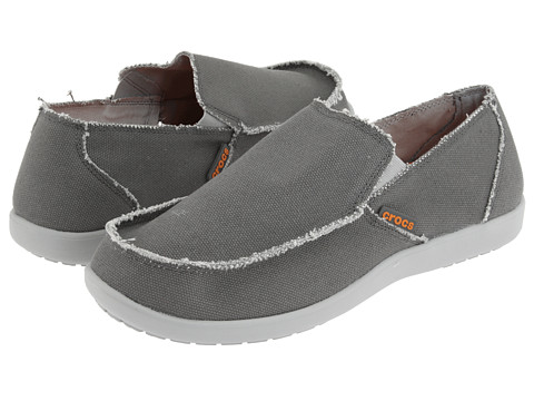 Crocs - Santa Cruz (Light Gray/Charcoal) Men