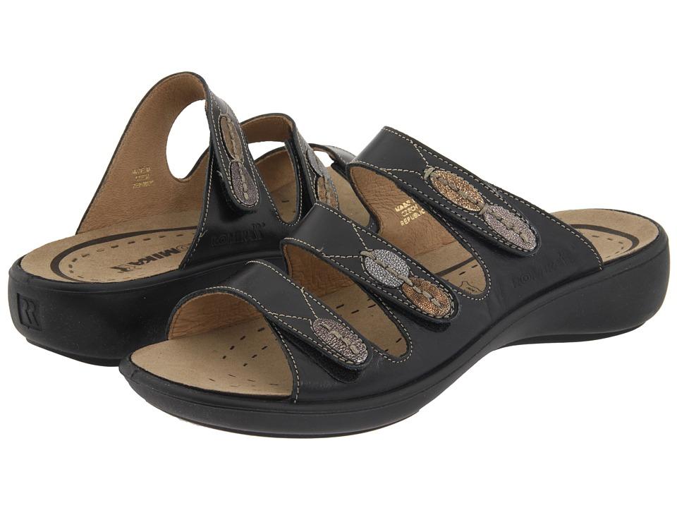 Romika - Ibiza 20 (Jamaica Black Leather) Women's Sandals