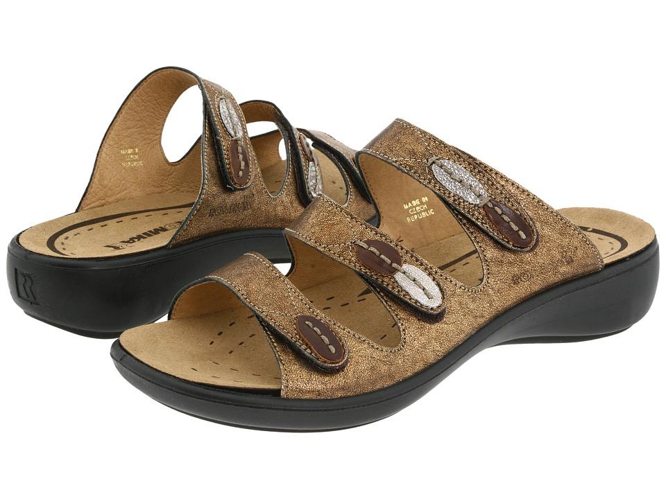 Romika - Ibiza 20 (Metallic Bronze Leather) Women's Sandals