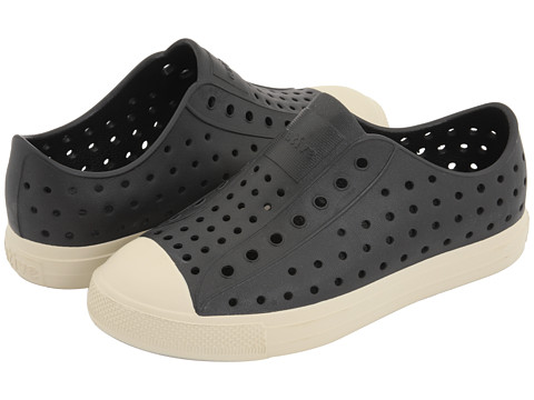 Native Kids Shoes - Jefferson (Little Kid) (Jiffy Black) Kids Shoes