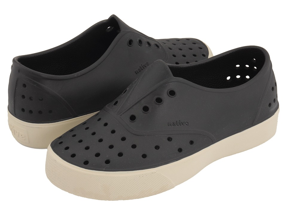 Native Kids Shoes - Miller (Little Kid) (Jiffy Black) Kids Shoes