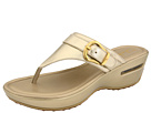 Cole Haan - Air Maddy Tant Thong (Soft Gold Metallic) - Cole Haan Shoes