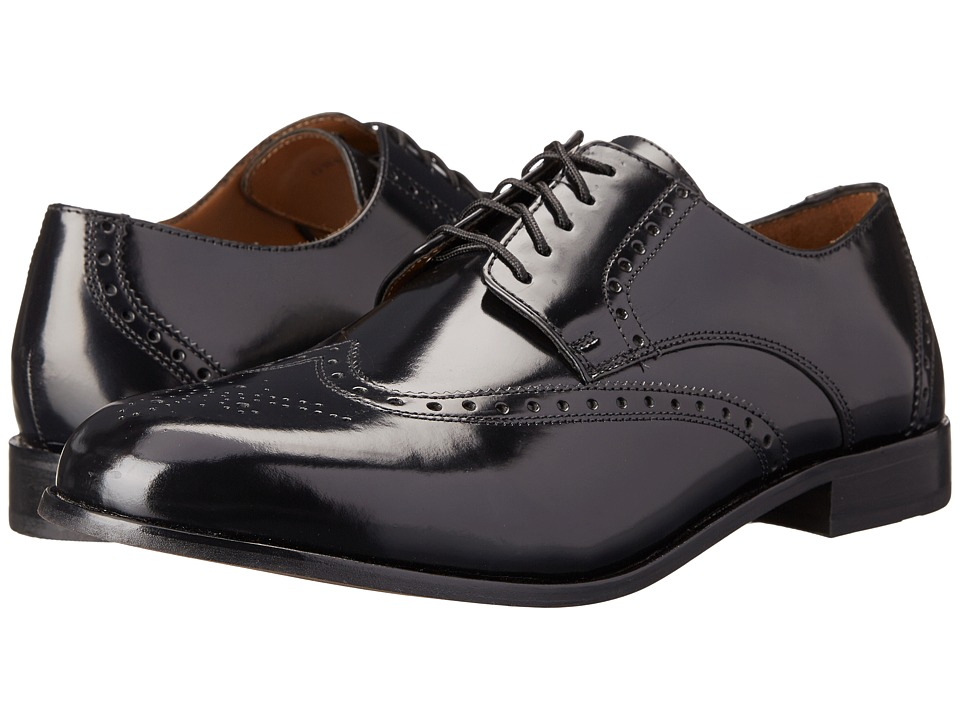 Florsheim - Brookside (Black) Men's Lace Up Wing Tip Shoes