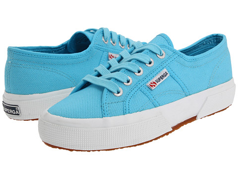 Superga Kids - 2750 JCOT Classic (Toddler/Little Kid) (Turquoise SP 11) Girls Shoes