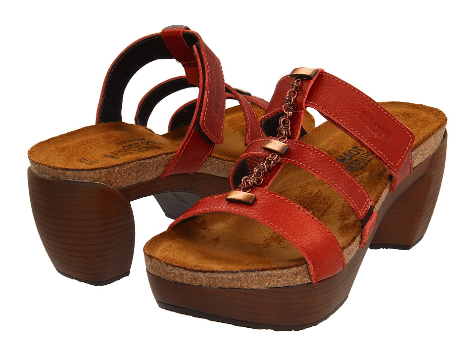 Naot Footwear - Bond (Garnet Leather) Women's Sandals