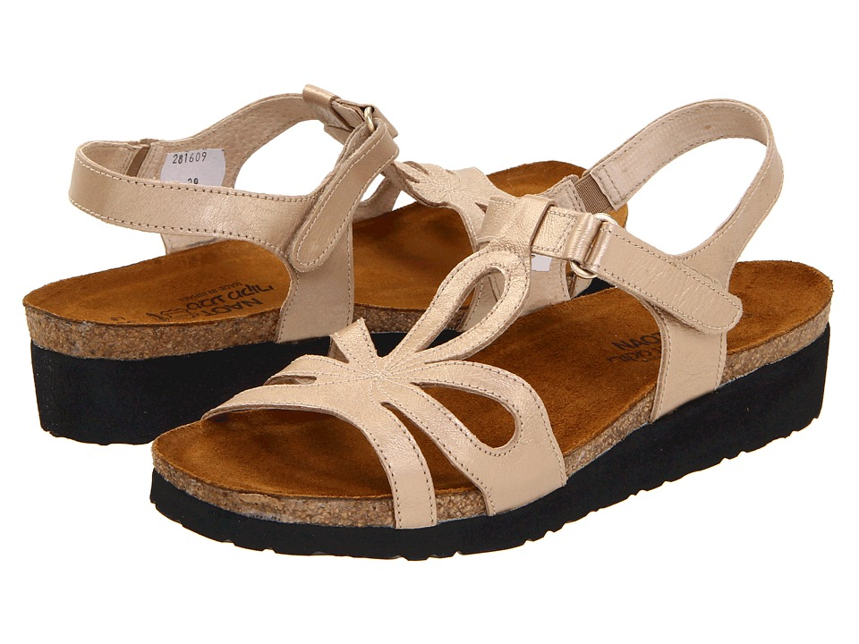 Naot Footwear - Rachel (Champagne Leather) Women's Sandals