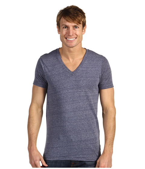 Alternative - Boss V-Neck Tee (Eco Navy) Men