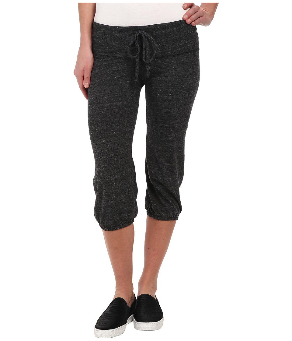 Alternative - Eco-Heather Crop Pant (Eco Black) Women's Casual Pants