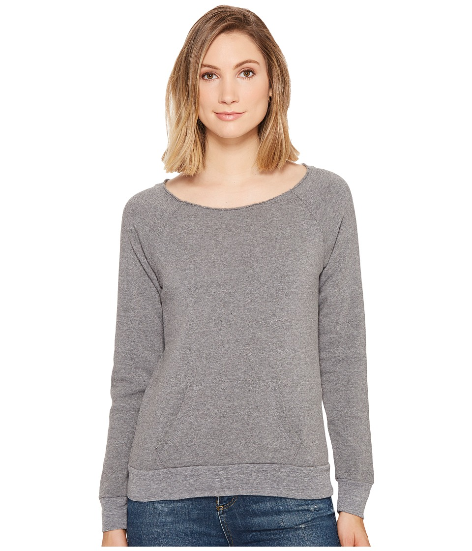 Alternative - The Maniac Eco-Fleece Sweatshirt (Grey) Women's Sweatshirt