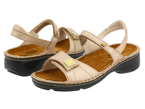 Naot Footwear - Papaya (Champagne Leather) Women's Sandals