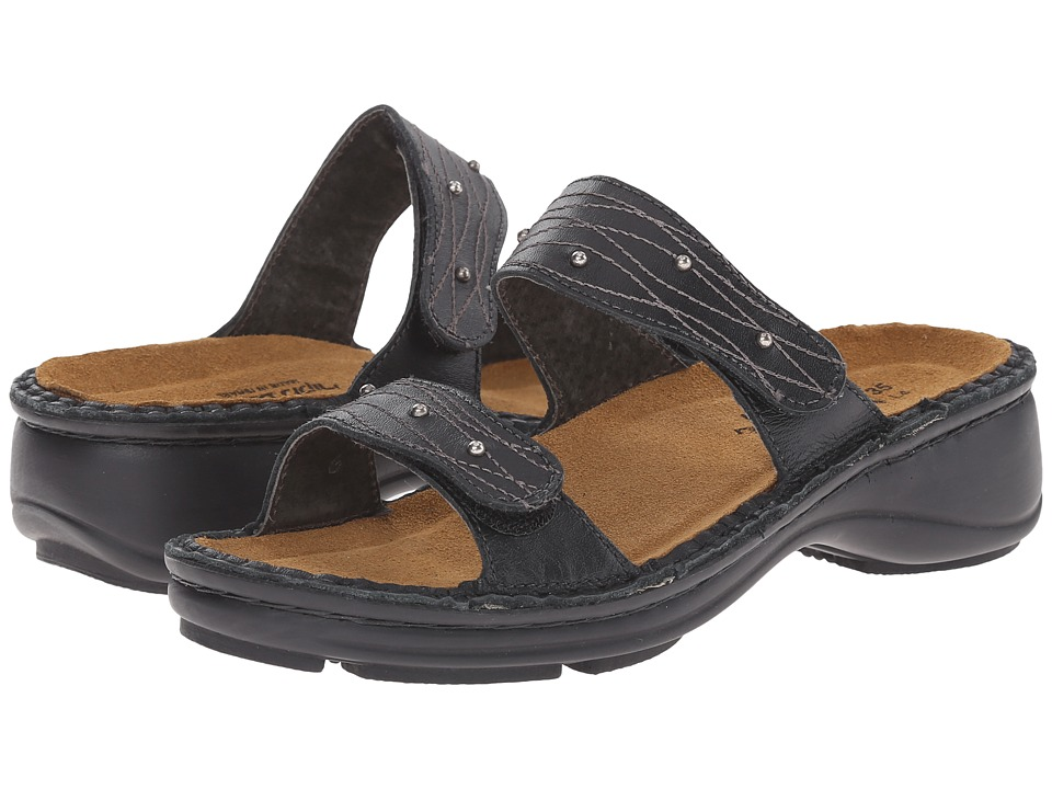 Naot Footwear - Lavender (Black Matte Leather) Women's Sandals