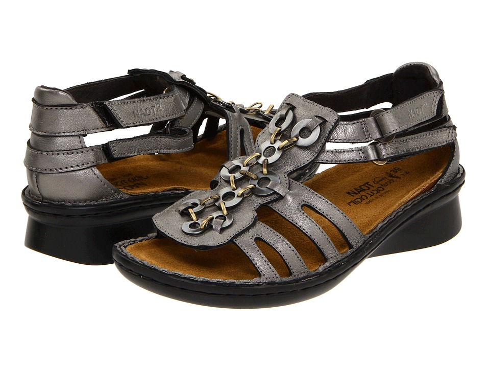 Naot Footwear - Trovador (Sterling Leather) Women's Sandals