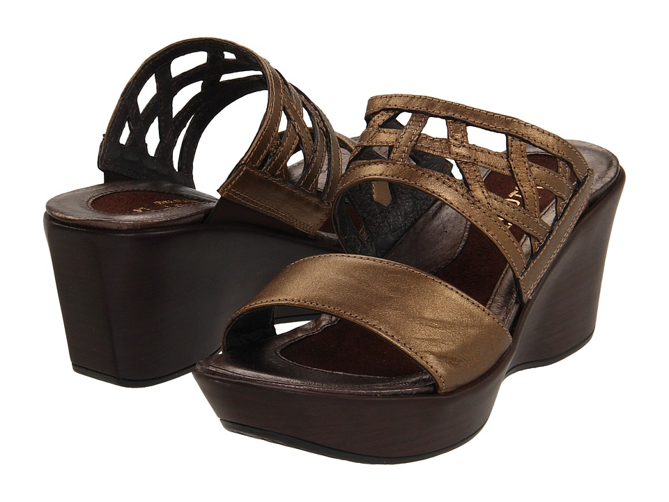 Naot Footwear - Bonita (Grecian Gold Leather) Women