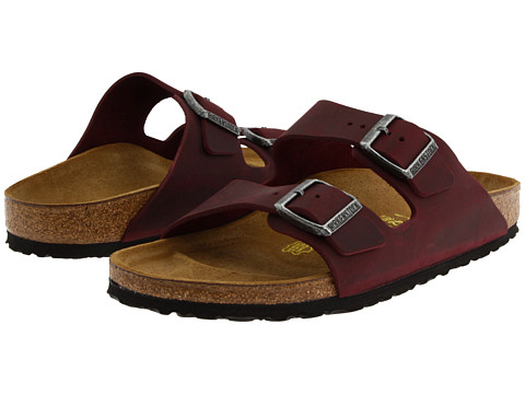 birkenstock arizona oiled leather zinfandel