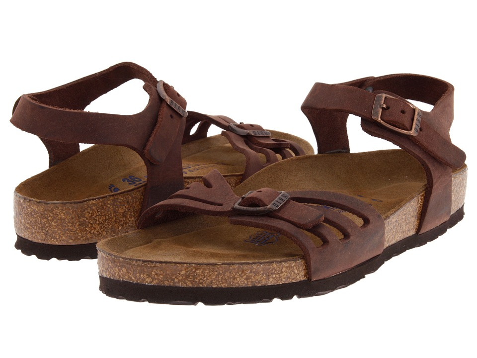 Birkenstock - Bali Soft Footbed (Habana Oiled Leather) Women