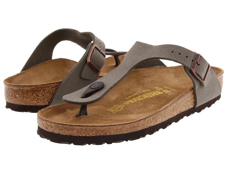 958cbfaeab6c UPC 736399810424 product image for Birkenstock Gizeh Birkibuc (Stone  Birkibuc ) Women s Shoes