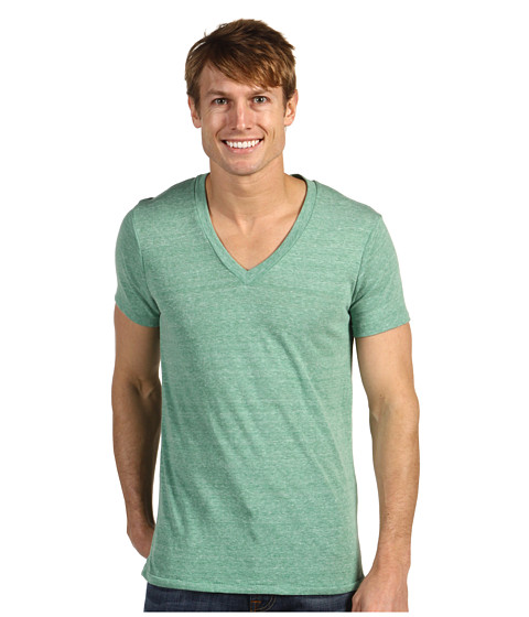 Alternative - Boss V-Neck Tee (Eco Green) Men