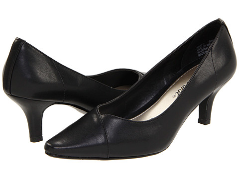 Easy Street - Chiffon (Black) High Heels