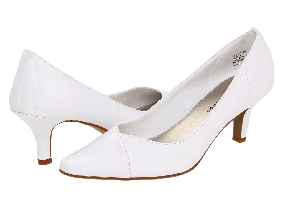 Easy Street Chiffon (White) High Heels