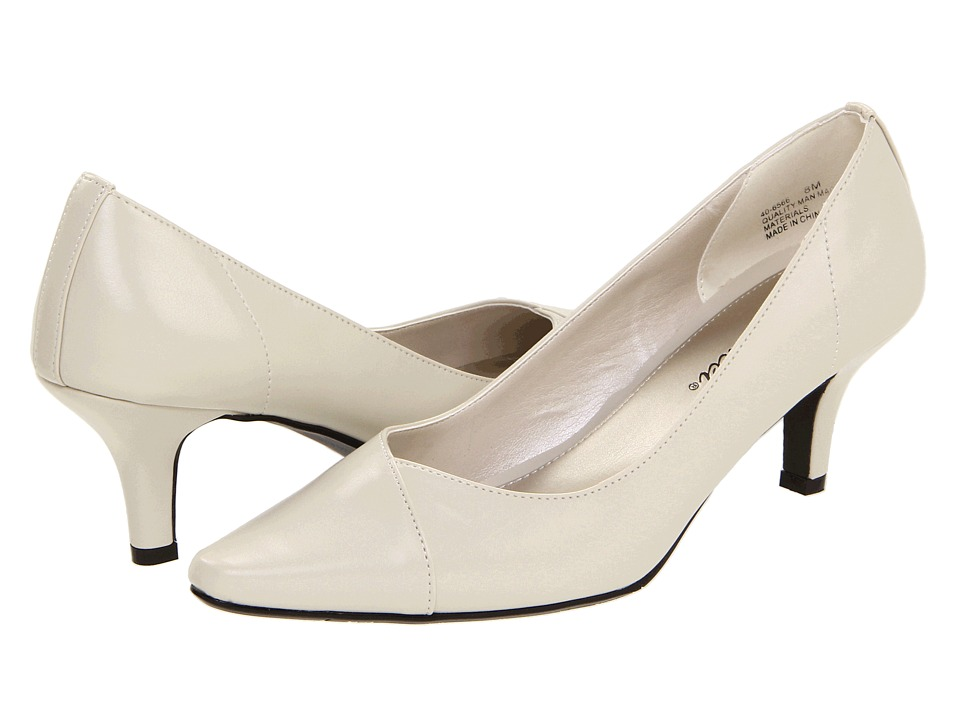 Easy Street - Chiffon (Bone) High Heels